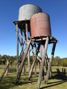 The rickety water towers